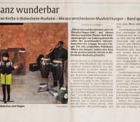 2012 – Adventskonzert WunderFinger