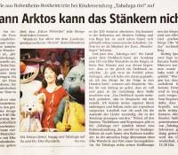 """2002 – ZDF Sendung """"Tabaluga Tivi"""""""