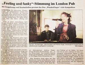 WunderFinger LondonPub